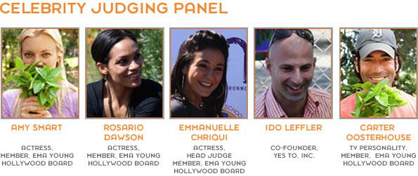 Celebrity Judge Panel