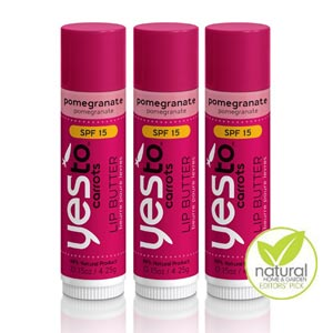 Lip Butter - Pomegranate with SPF 15 Image