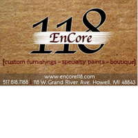 EnCore 118 Custom Furnishings & Boutique Logo