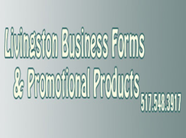 Livingston Business Forms & Promotional Products Logo