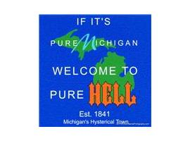 Hell Michigan Logo