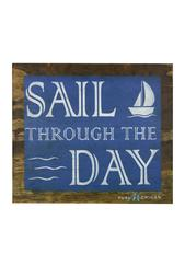 Sail Through the Day Wooden Wall Art