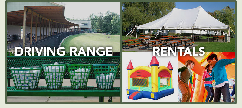 The products and services offered at Oak Valley Entertainment include a Driving Rage, Party Rentals, and Fireworks