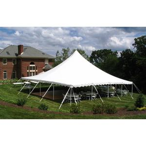 40x40 High peak pole tent Image